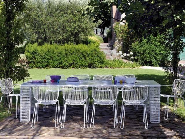 Quelques le ons pour la d coration de table ext rieure - Nappe pour table exterieur ...